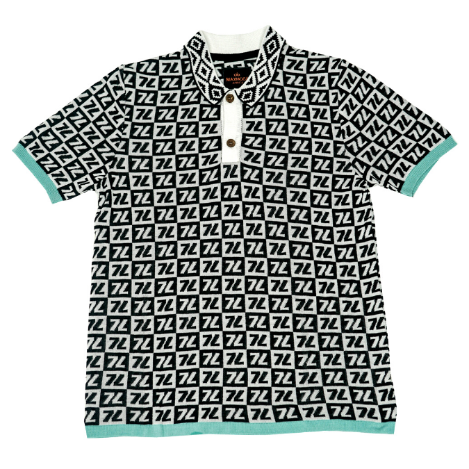 MMM CHECKERED POLO-1