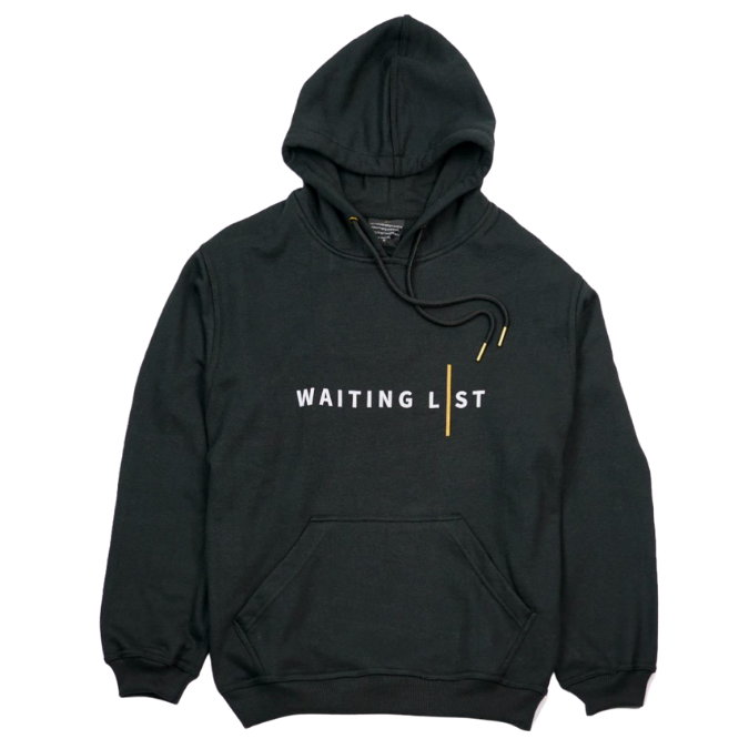 WAITING LIST BLACK WL HOODIE-1