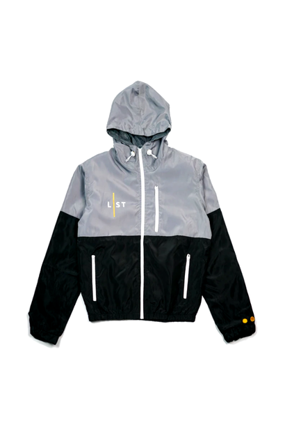 GREY WINDBREAKER