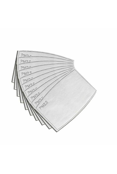 POPIN PM2.5 MASK FILTERS - 2 pack