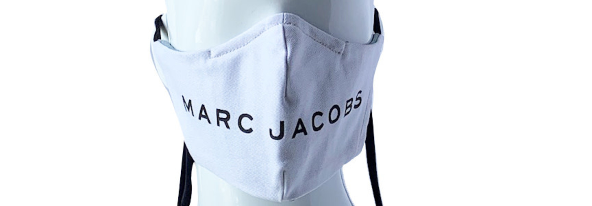 LAST PRGRM REPURPOSED MASK MARC JACOBS WHITE