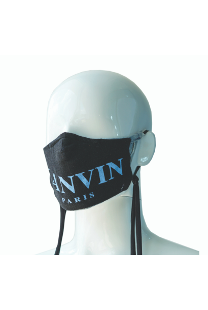REPURPOSED MASK LANVIN BLACK