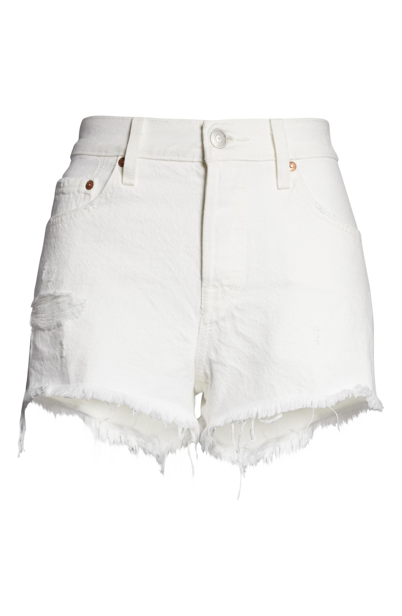 501 SHORTS 56327-0019 PEARLY WHITE-1