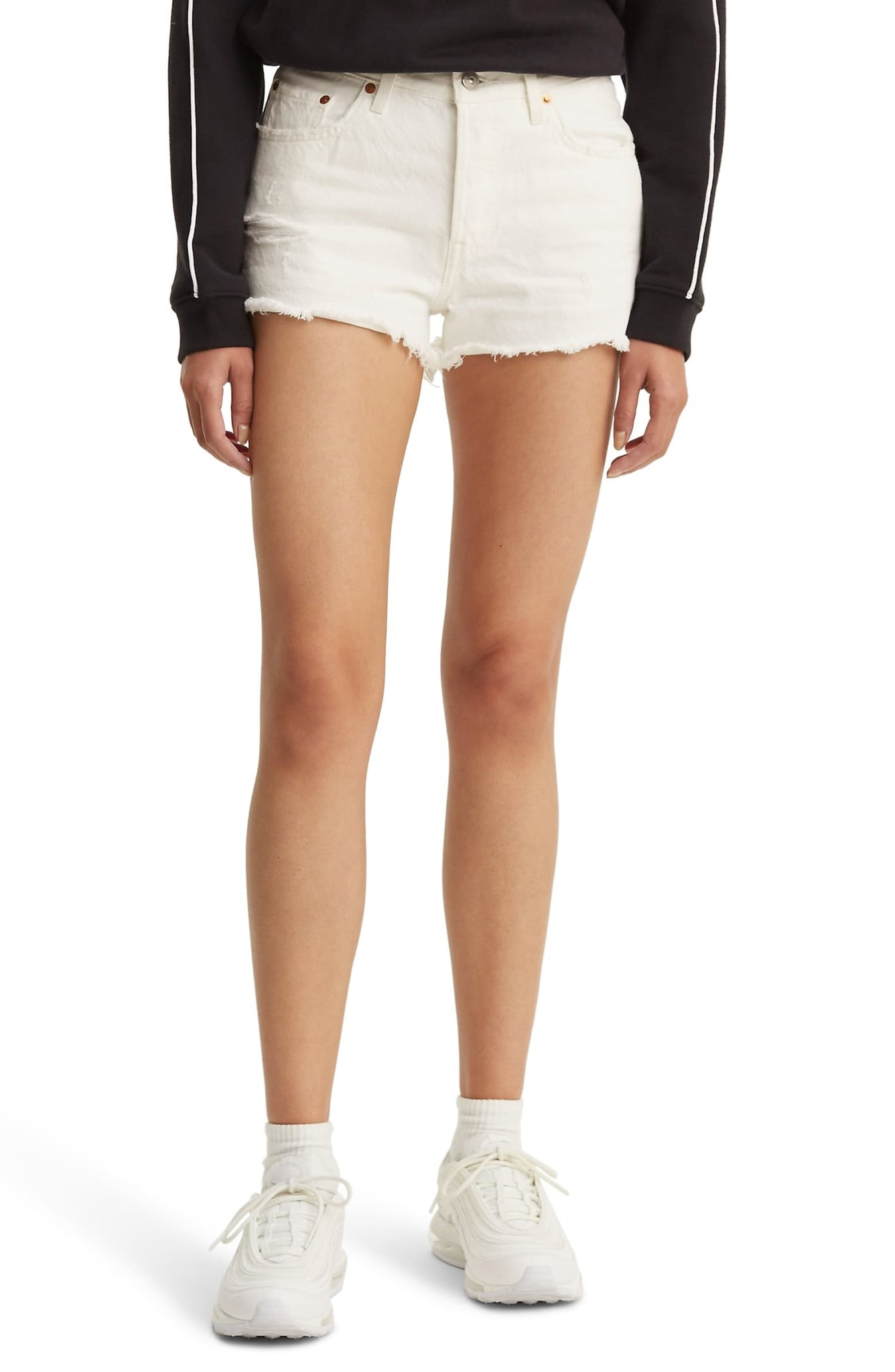 501 SHORTS 56327-0019 PEARLY WHITE-2