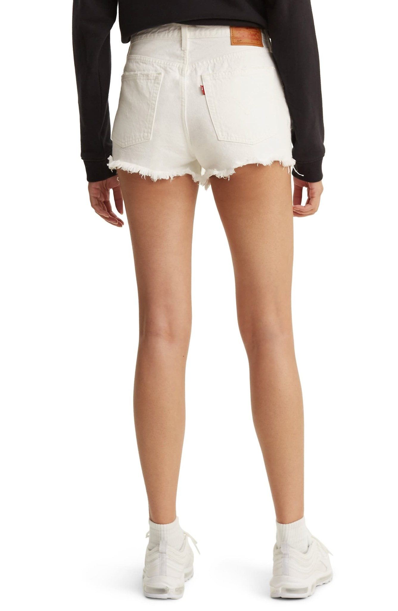 501 SHORTS 56327-0019 PEARLY WHITE-3