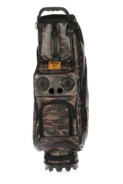 BLUETOOTH SPEAKER CAMO GOLFBAG
