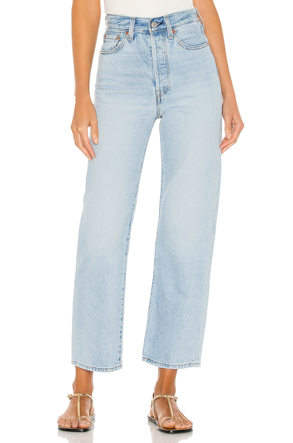 LEVI'S RIBCAGE STRAIGHT ANKLE 72693-0055 MIDDLE ROAD-2