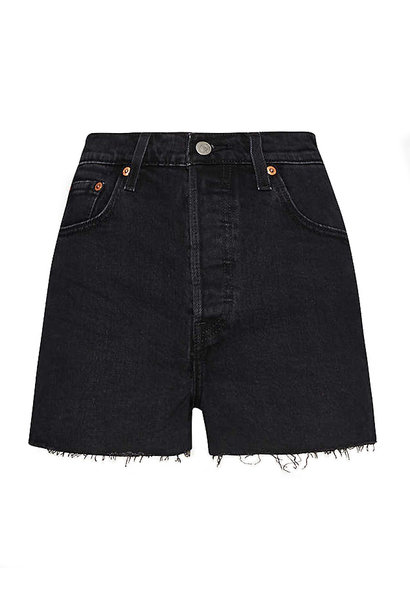 RIBCAGE SHORTS BLACK BAYOU