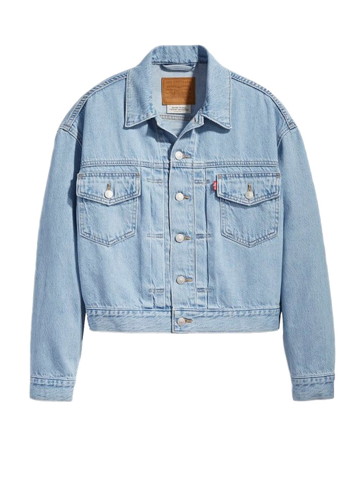 LEVI'S NEW HERITAGE TRUCKER 36757-0002 GET OVER IT-1