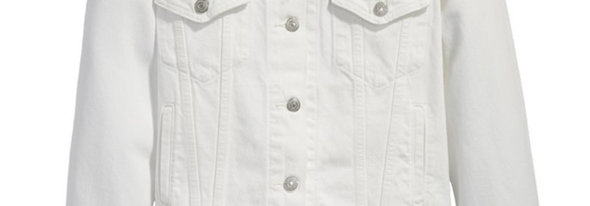 LEVI'S EX BF TRUCKER 29944-00896 WHITE CELL