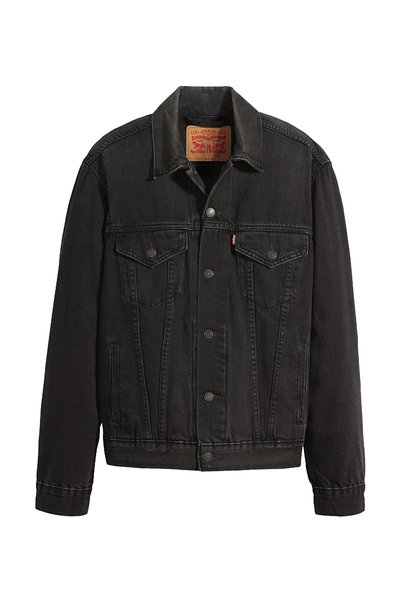 LEVI'S VINTAGE FIT TRUCKER BLACK