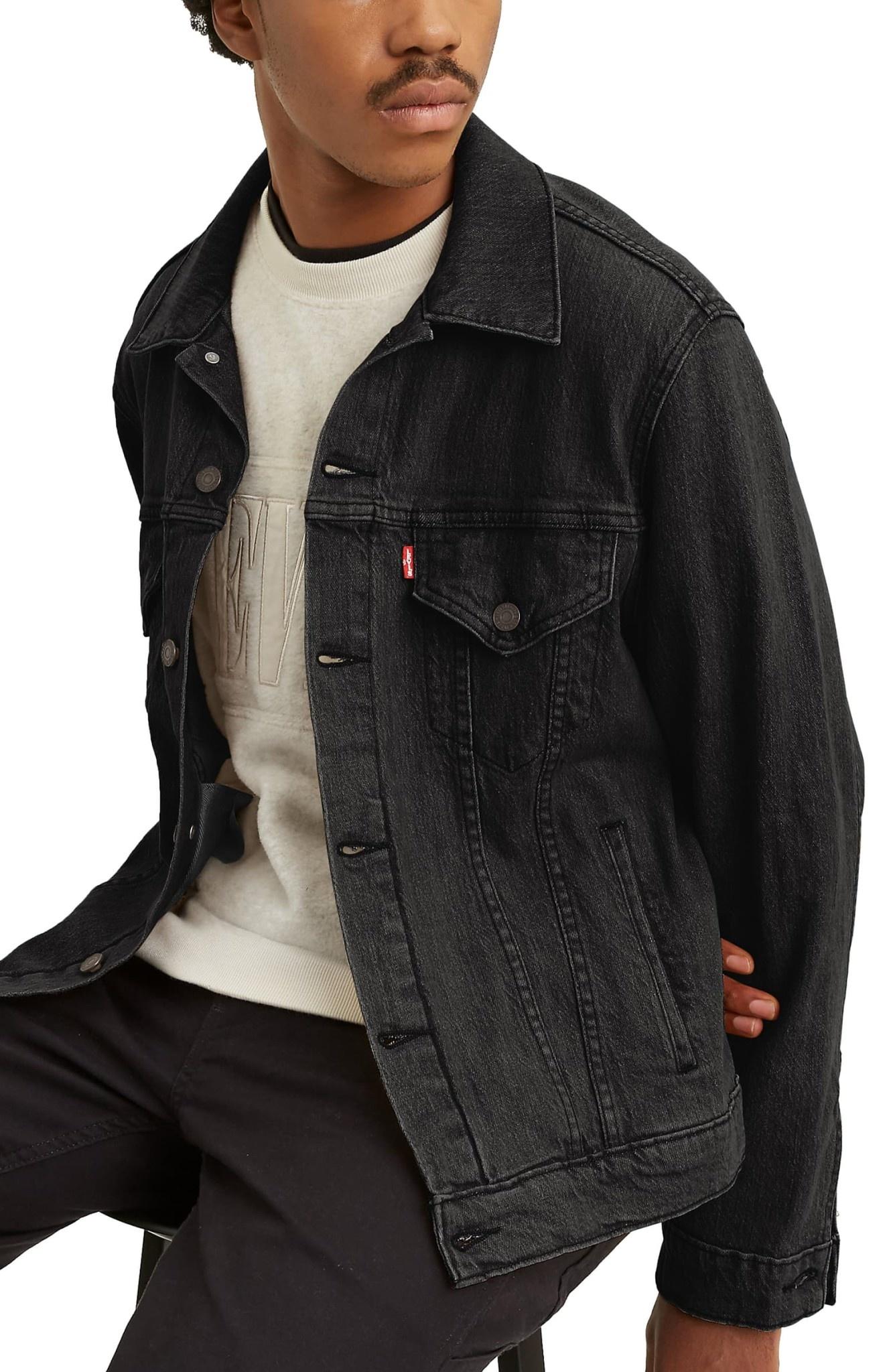 LEVI'S VINTAGE FIT TRUCKER 77380-0013 BLACK-4