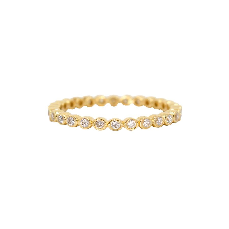 MMJ 14K ROSE GOLD DIAMOND RING-1