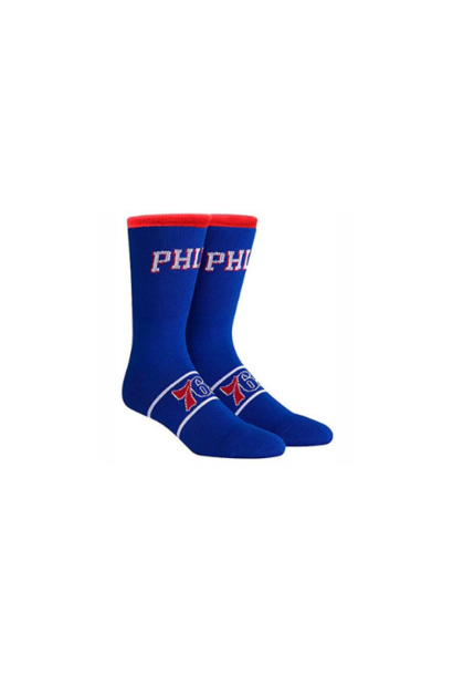 SIXERS NBA UNIFORM CREW BLUE