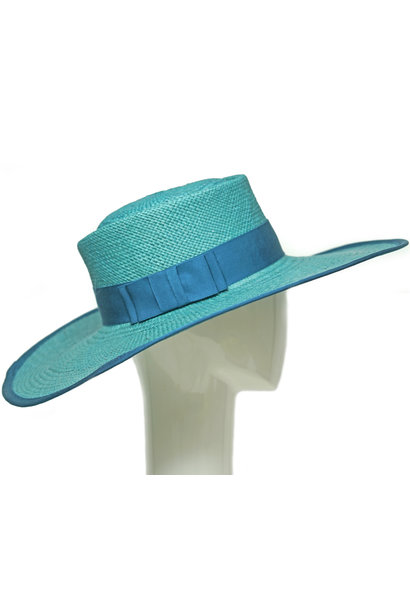 FLOW TEAL FEDORA