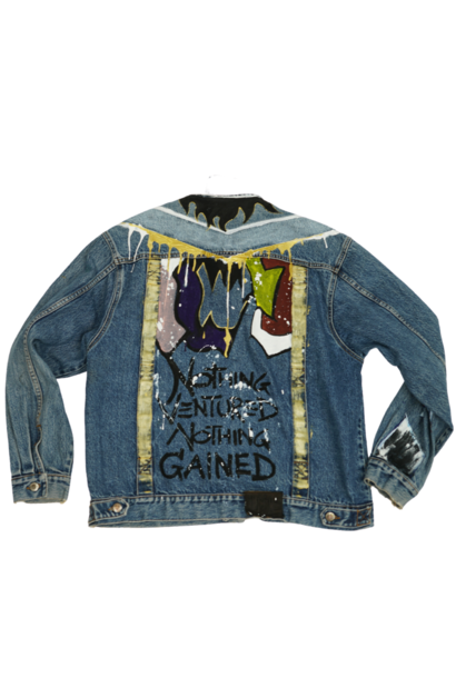 POP IN NVNG CUSTOM DENIM JACKET