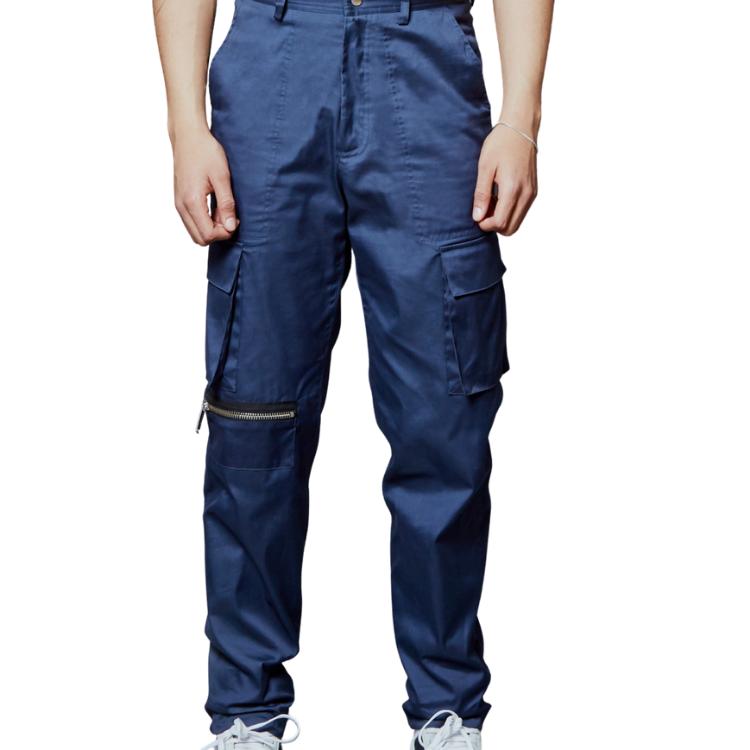 PSNYC CARGO PANT BLUE-1