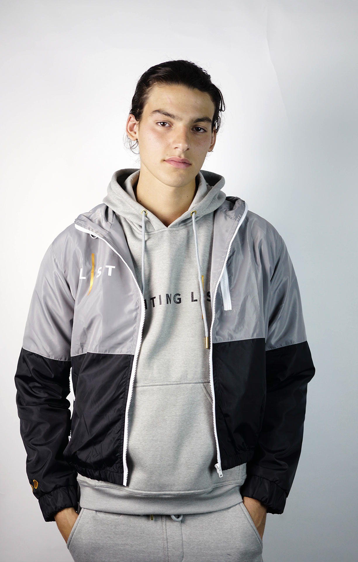 WAITING LIST GREY WINDBREAKER-3