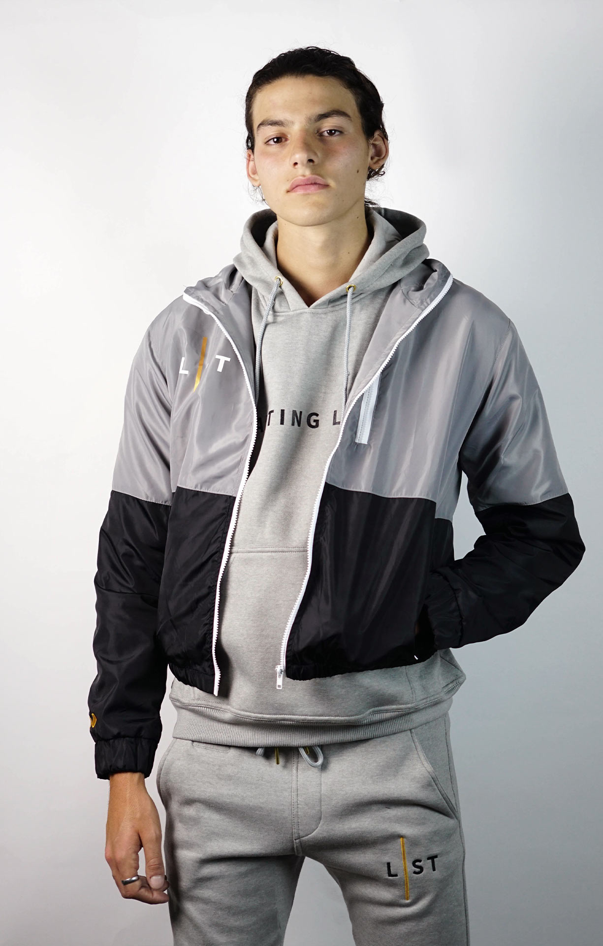 WAITING LIST GREY WINDBREAKER-4