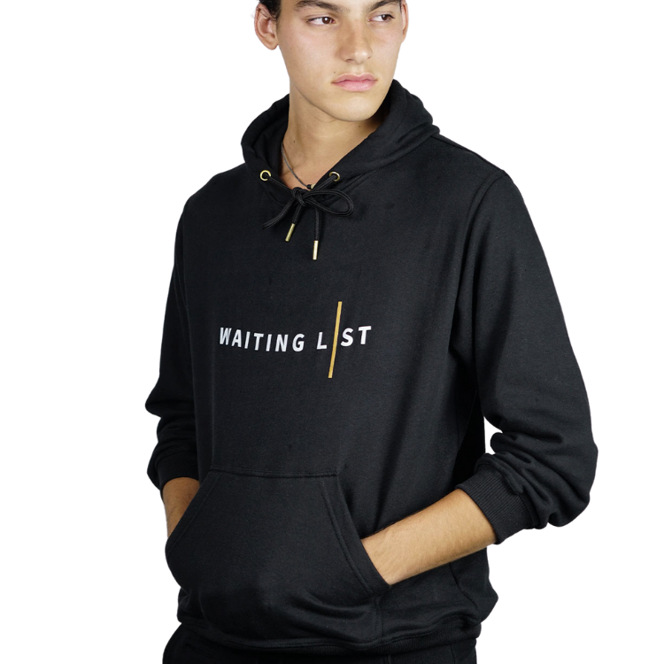 WAITING LIST BLACK WL HOODIE-2