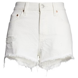 LEVI'S VOTE 501 SHORTS 56327-0019 PEARLY WHITE-3