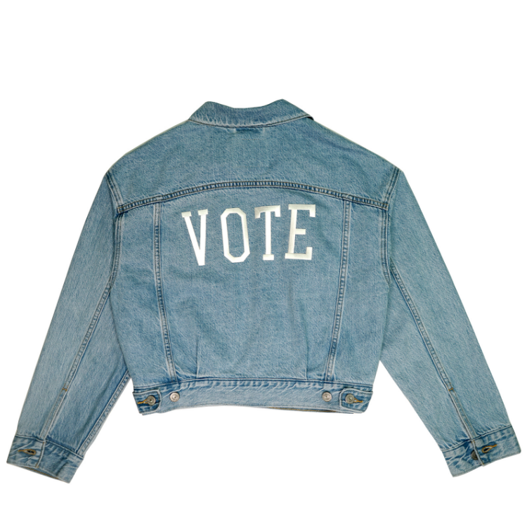 LEVI'S VOTE EX BF TRUCKER FOR REAL-1