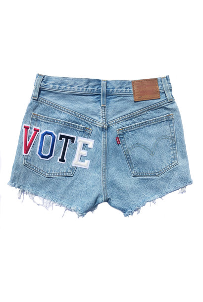 LEVI'S VOTE 501 SHORTS LUXOR HEAT SHORTS