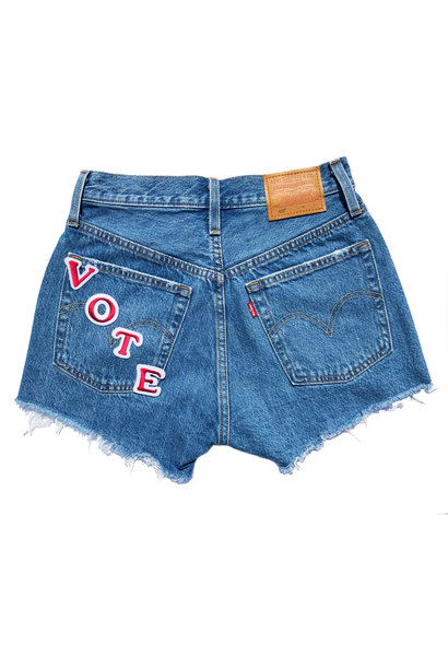 LEVI'S VOTE 501 SHORTS ATHENS MID SHORTS