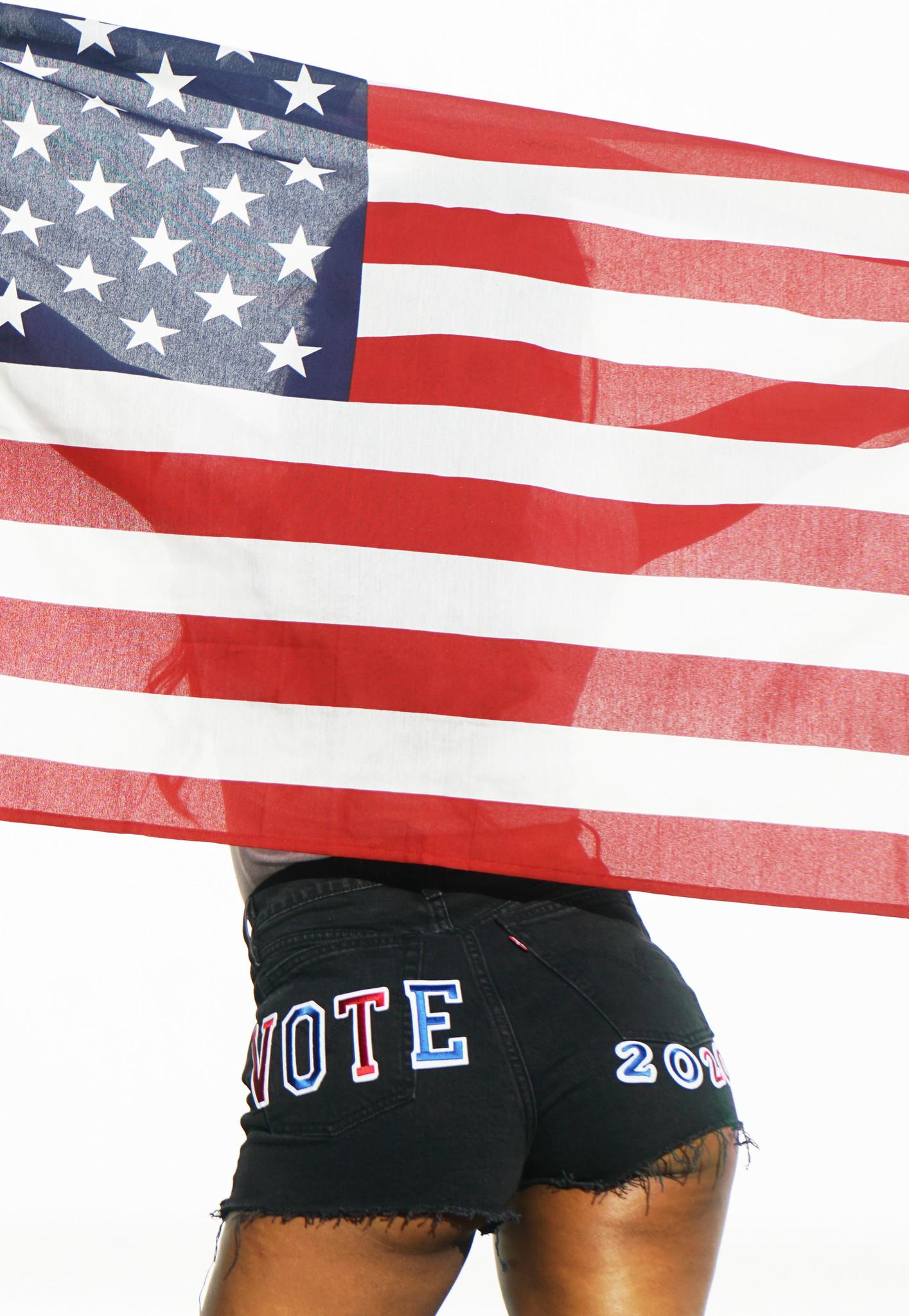 LEVI'S  VOTE RIBCAGE SHORTS 77879-0052 BLACK BAYOU-2