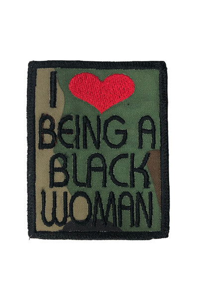 I LOVE BEING A BLACK WOMAN PATCHES