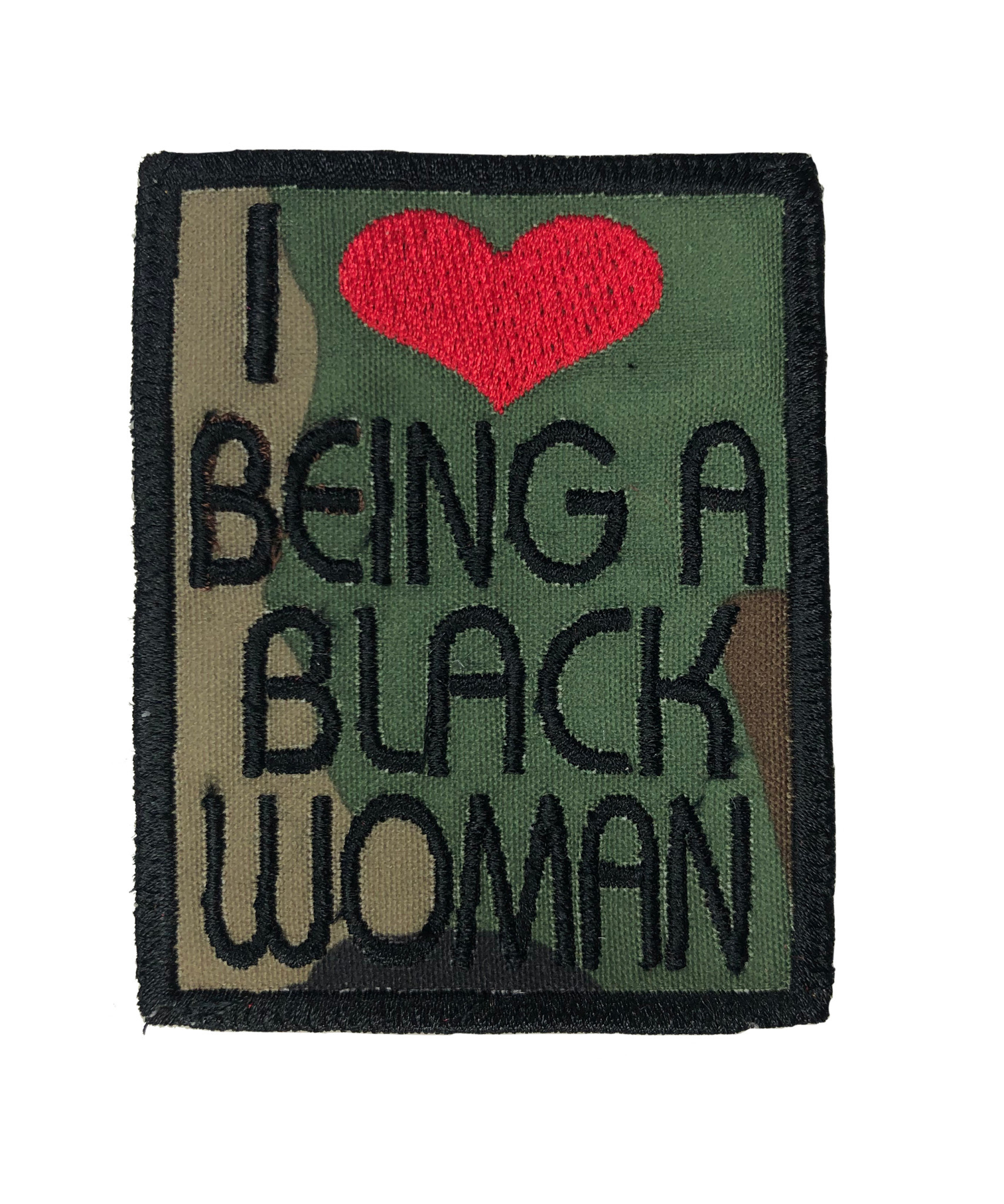 THE SHOP I LOVE BEING A BLACK WOMAN PATCHES-1