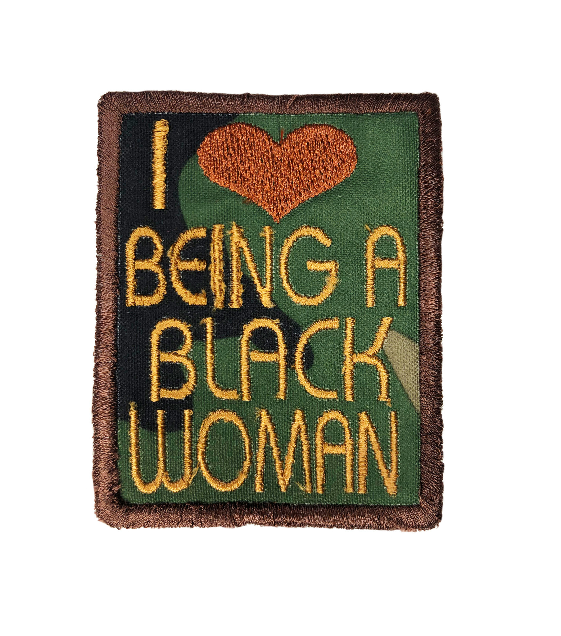THE SHOP I LOVE BEING A BLACK WOMAN PATCHES-2