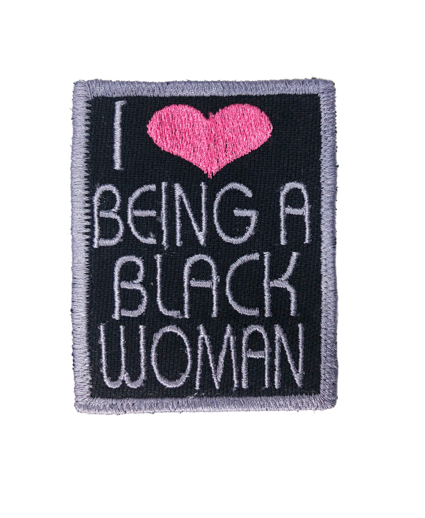 THE SHOP I LOVE BEING A BLACK WOMAN PATCHES-3