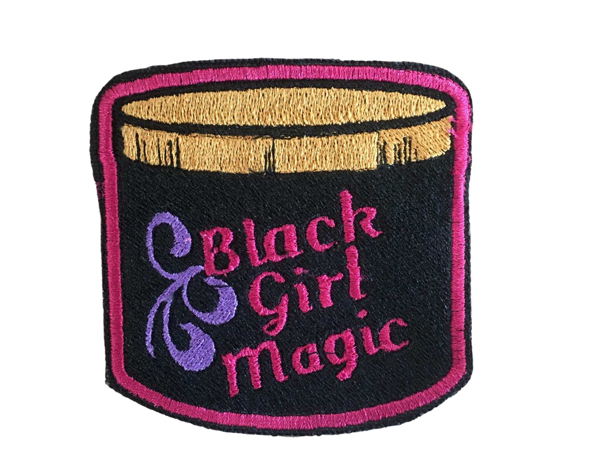 THE SHOP BLACK GIRL MAGIC JAR LARGE PATCH-1