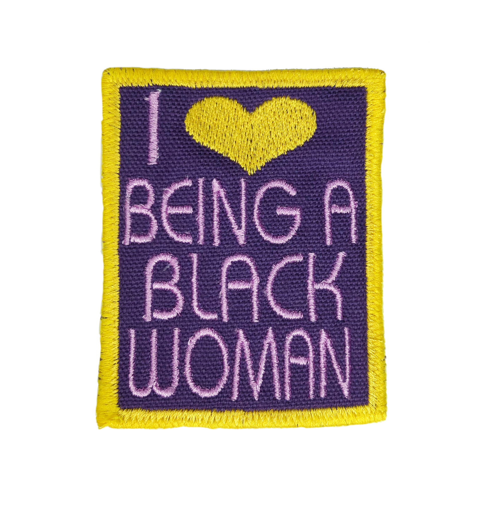 THE SHOP I LOVE BEING A BLACK WOMAN PATCHES-4