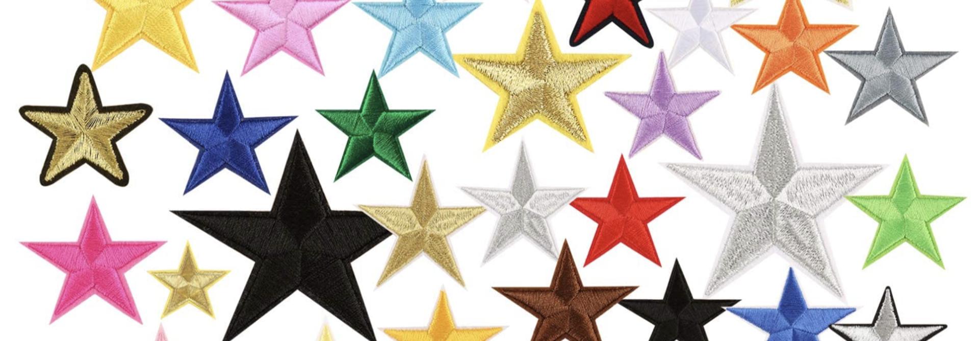 THE SHOP MEDIUM STAR PATCH