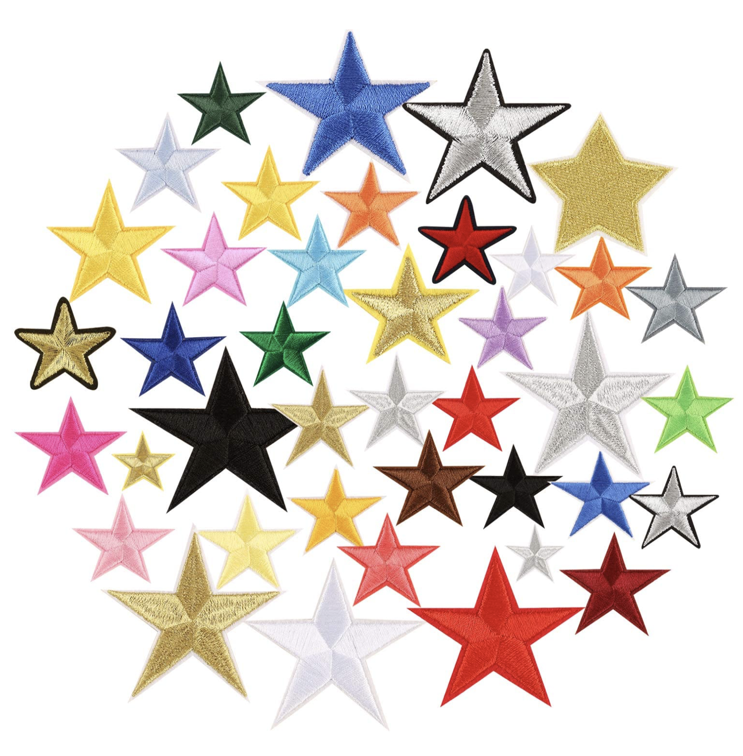 THE SHOP MEDIUM STAR PATCH-1