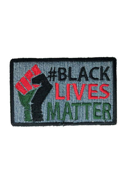 #BLM JEANS LARGE PATCH