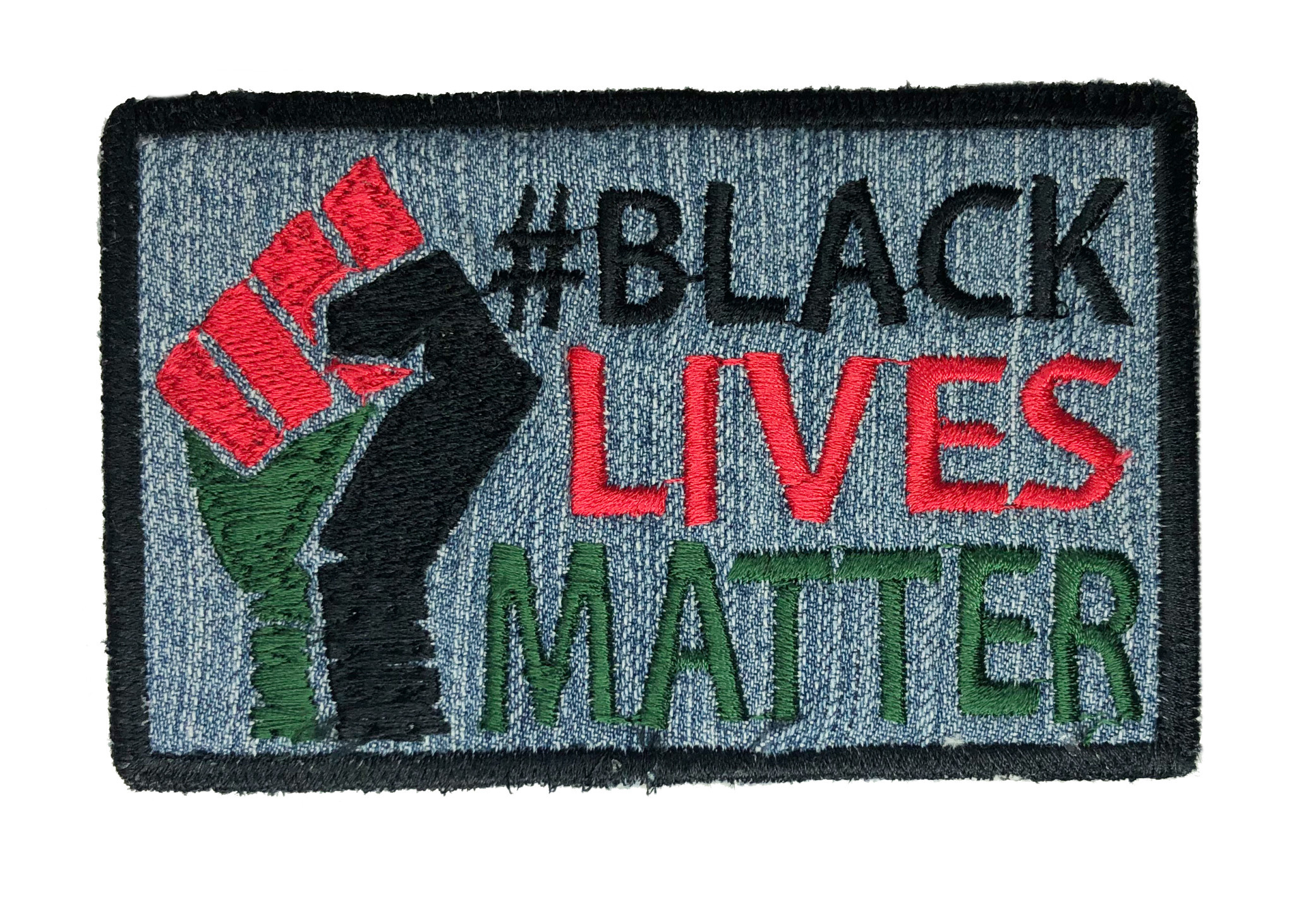THE SHOP #BLM JEANS LARGE PATCH-1