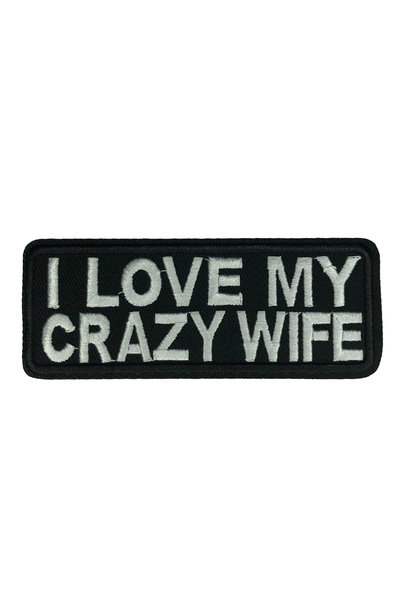 LOVE MY WIFE PATCH
