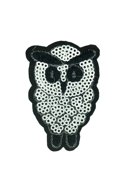 SEQUIN OWL PATCH