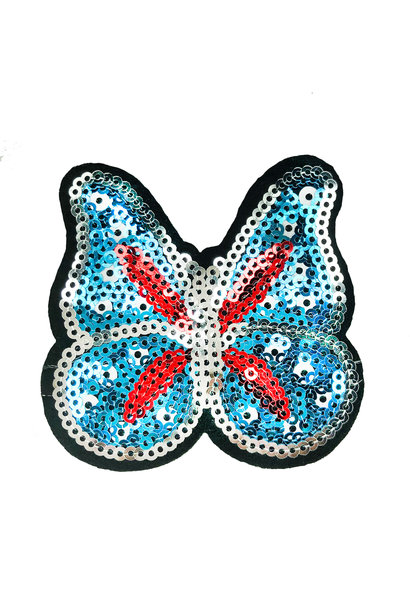 SEQUIN BUTTERFLY PATCH
