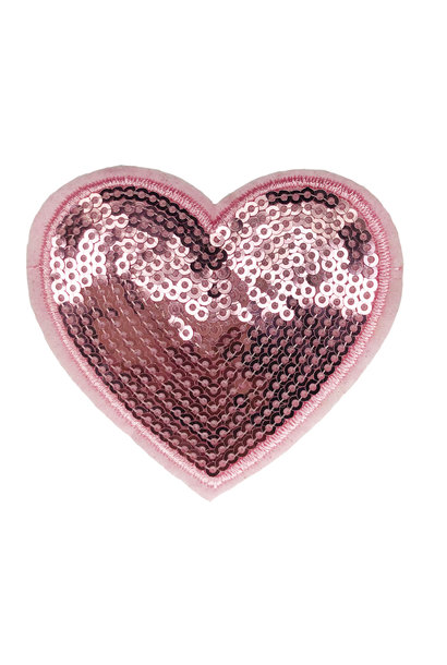 SEQUIN HEART PATCH