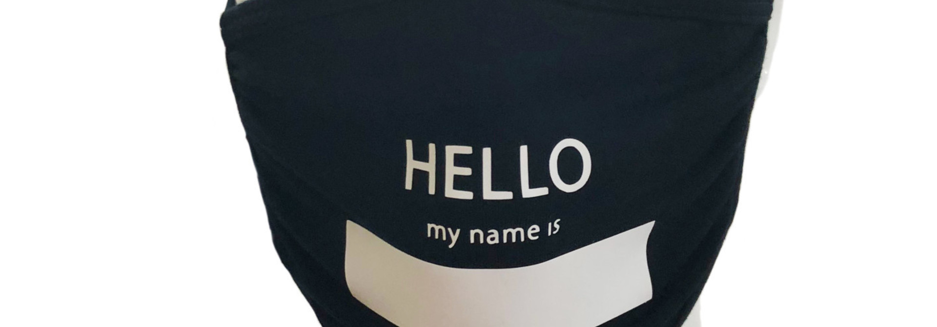 THE SHOP HELLO MY NAME IS MASK