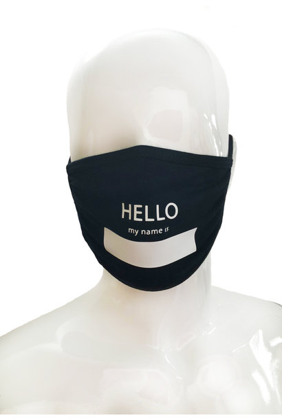 HELLO MY NAME IS MASK