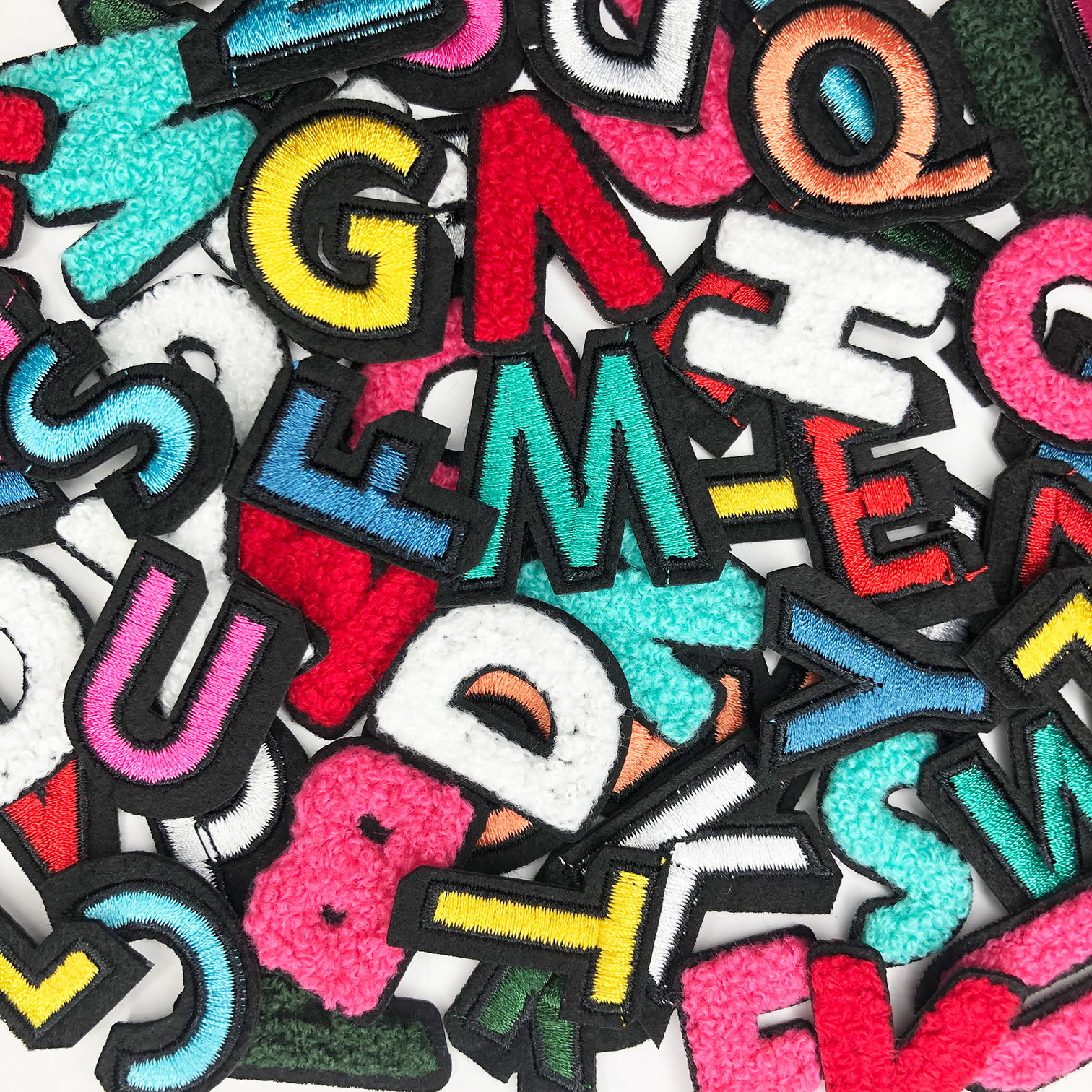 THE SHOP COLORFUL LETTERS PATCH-2