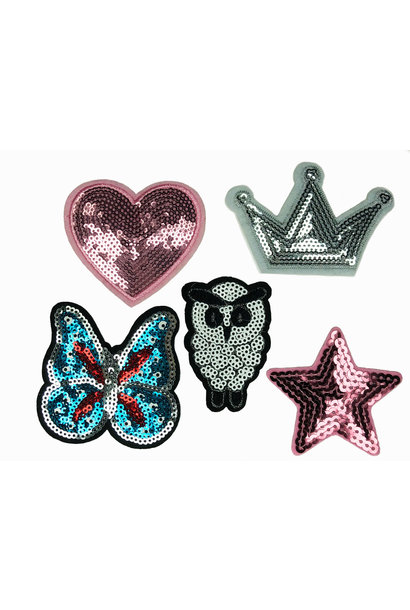 6 SEQUIN PATCHES