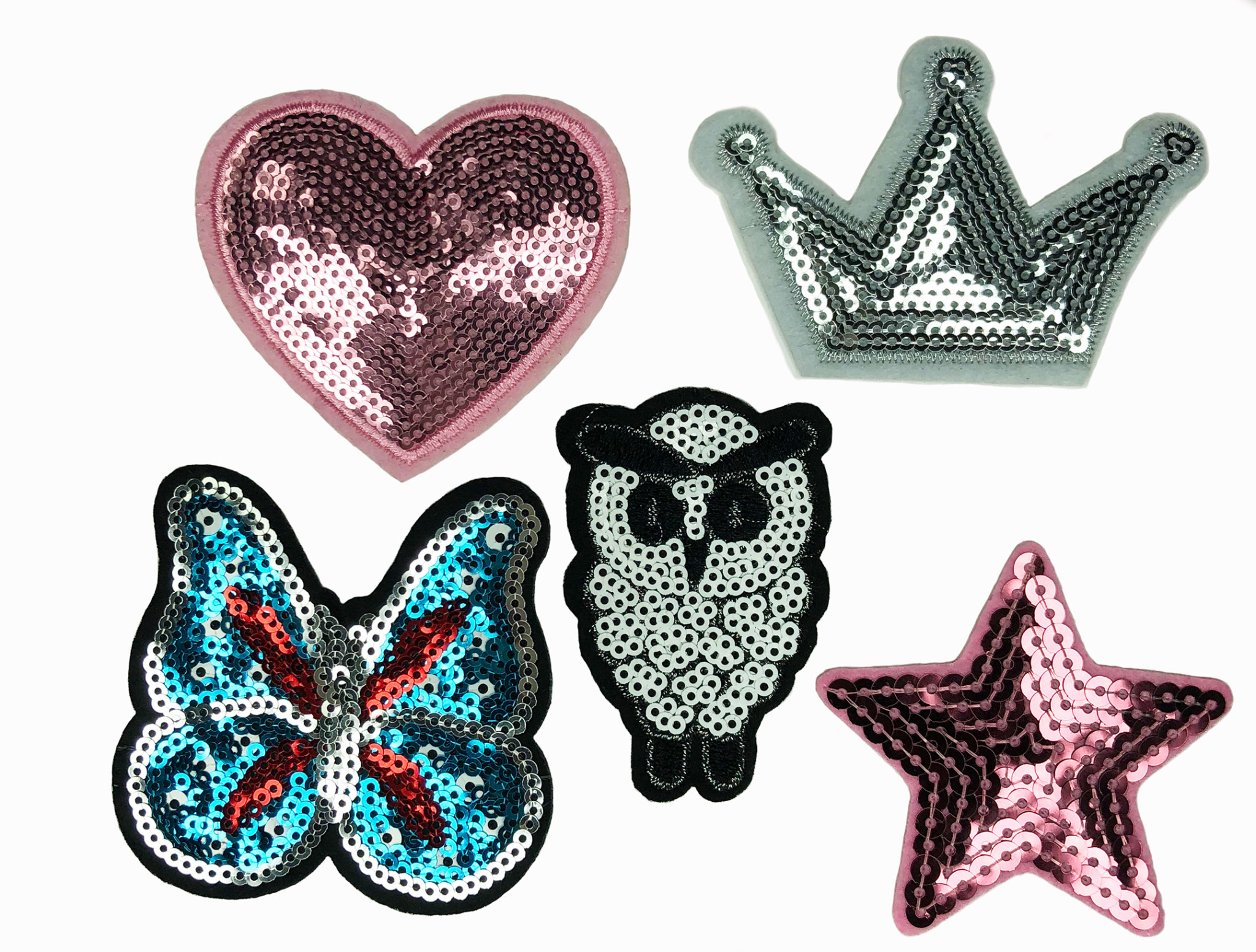 THE SHOP 6 SEQUIN PATCHES-1
