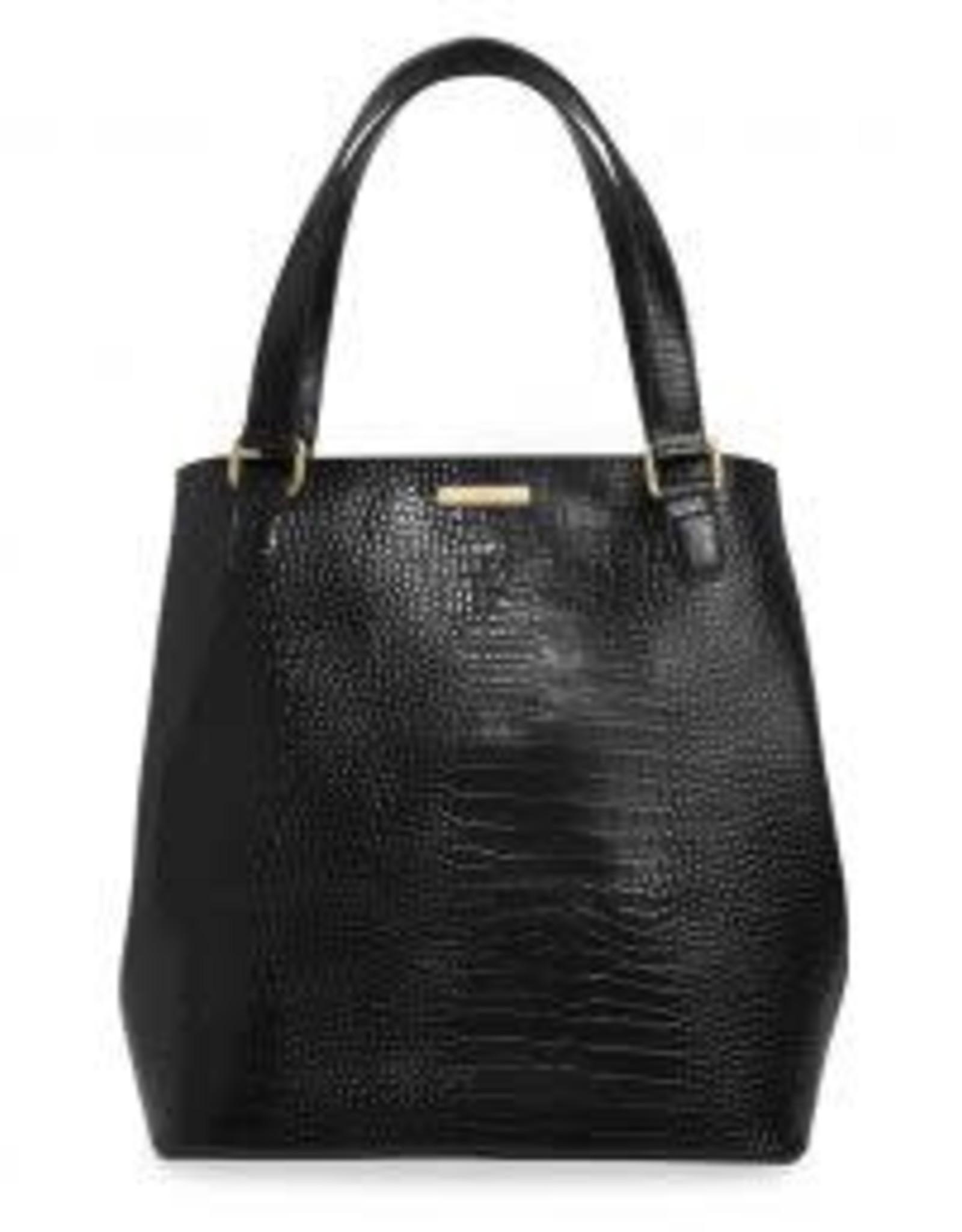Katie Loxton Celine Croc Day Bag - Black