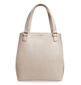 Katie Loxton Celine Croc Day Bag - Oyster